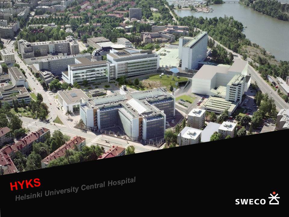 Helsinki University Central Hospital, Triangle Hospital HYKS Helsinki University Central Hospital