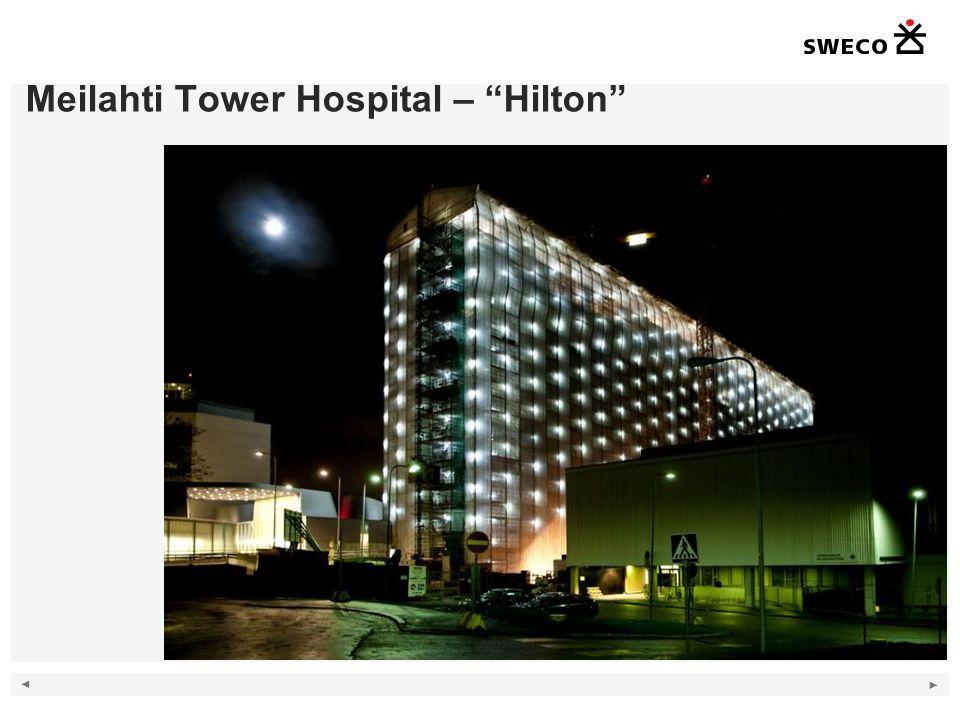 copyright © Mikael Paatela / Sweco Paatela Architects Oy Meilahti Tower Hospital – Hilton