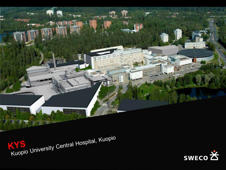 KYS Kuopio University Central Hospital, Kuopio
