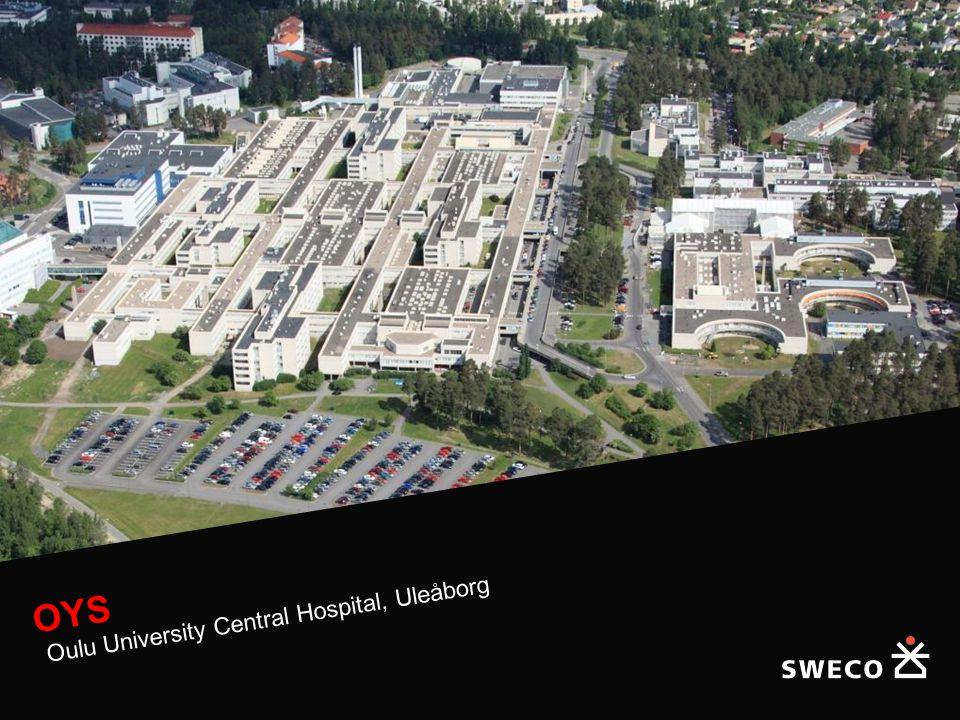 OYS Oulu University Central Hospital, Uleåborg