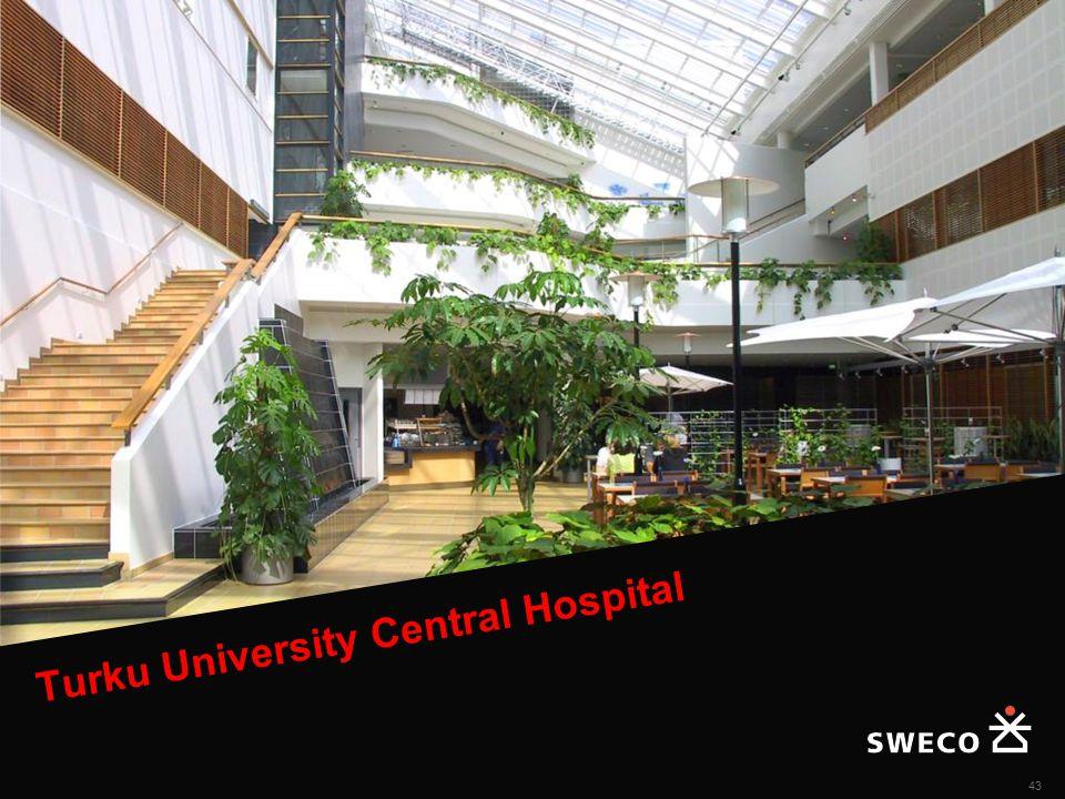 Turku University Central Hospital 43