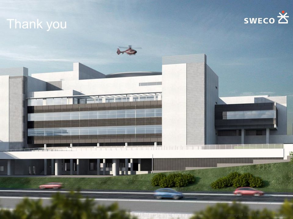 copyright © Sweco Paatela Architects Oy Thank you