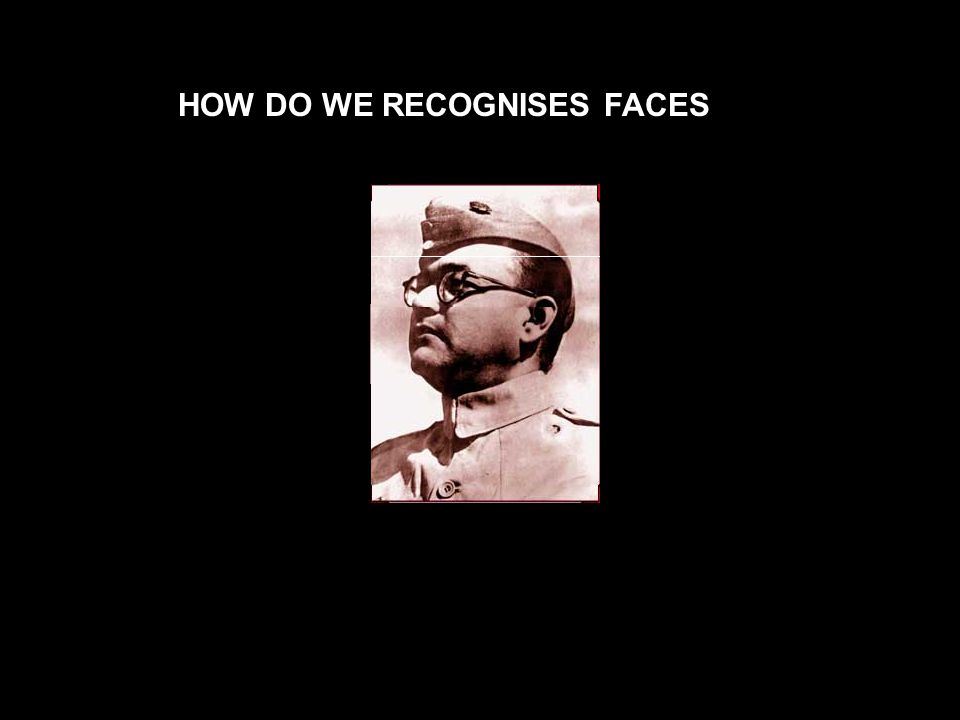 HOW DO WE RECOGNISES FACES