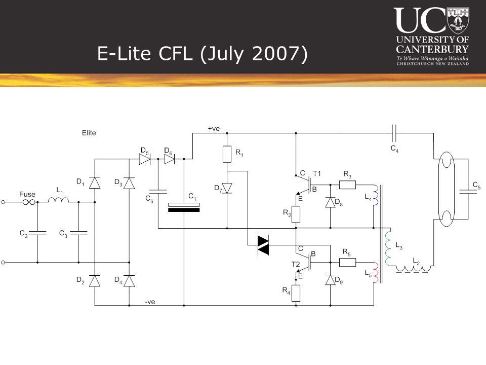 E-Lite CFL (July 2007)