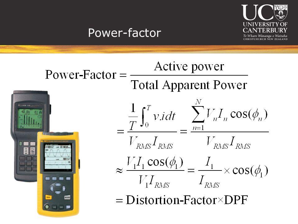 Power-factor