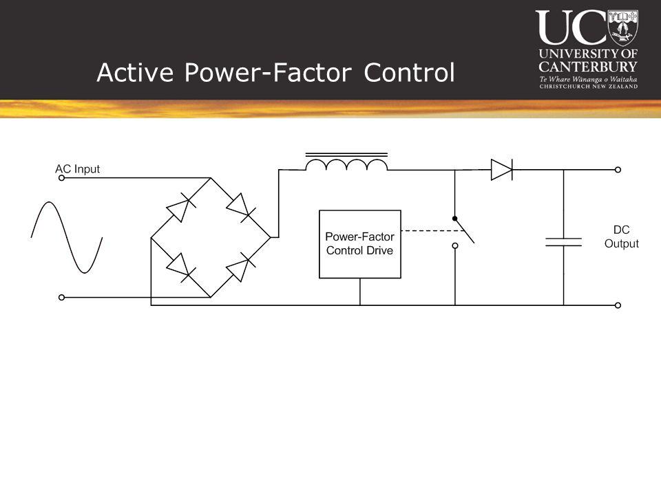Active Power-Factor Control