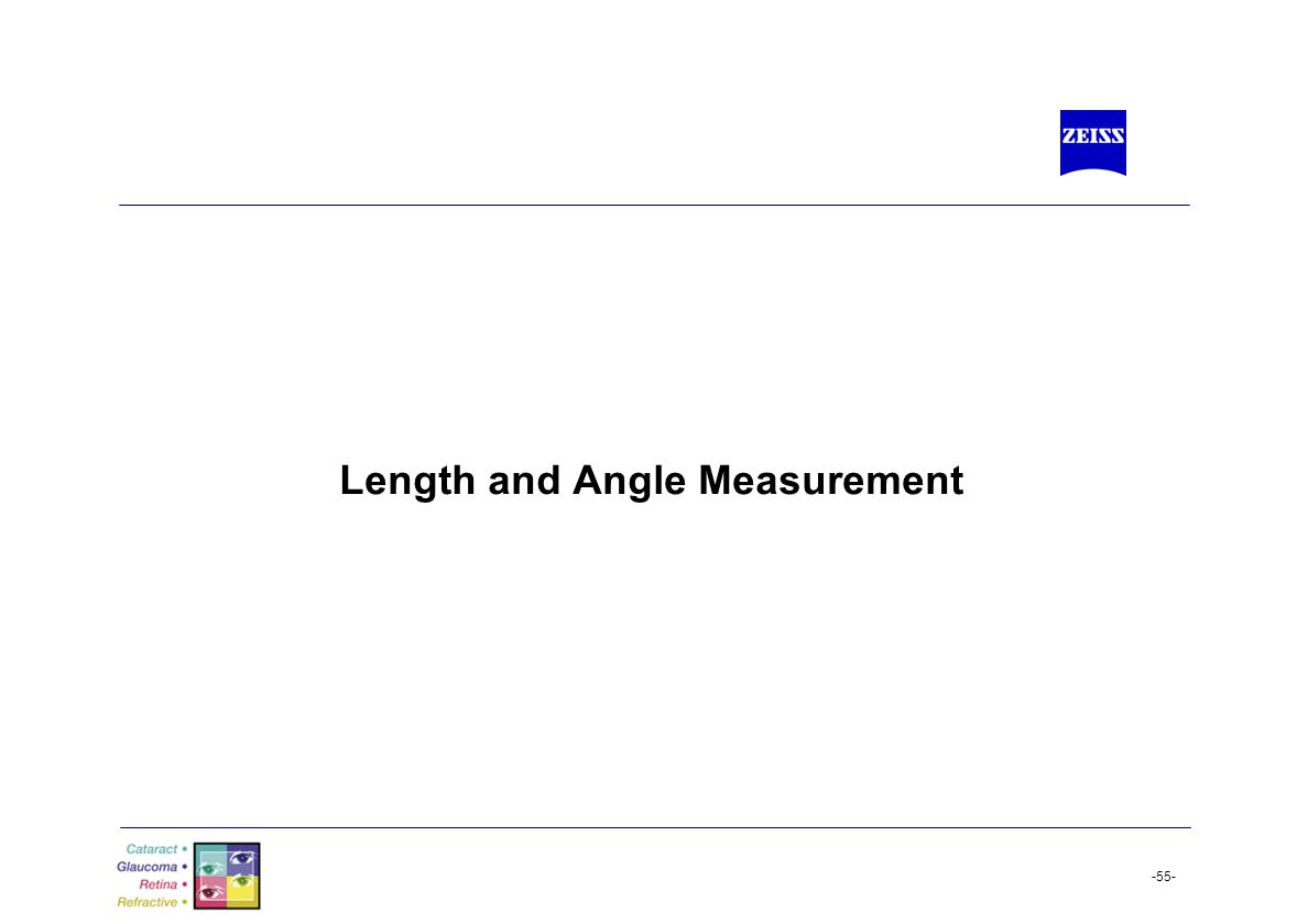 -55- Length and Angle Measurement