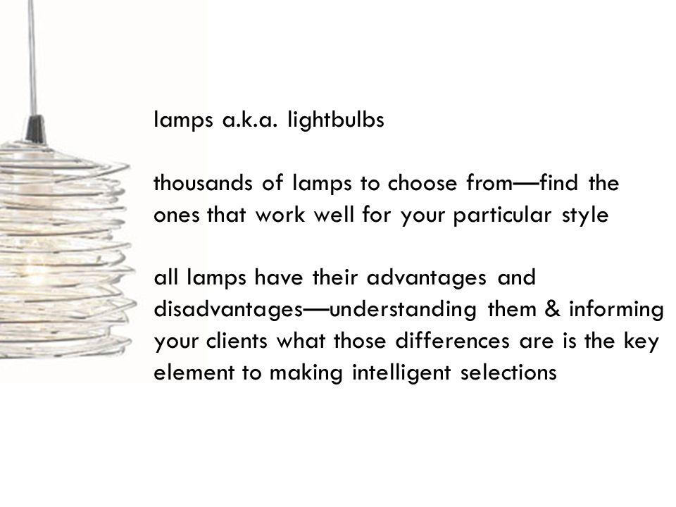 lamps a.k.a.