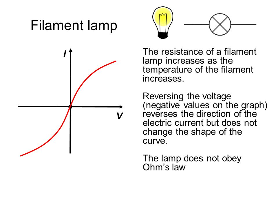 Diode Current only flows through a diode in one direction.