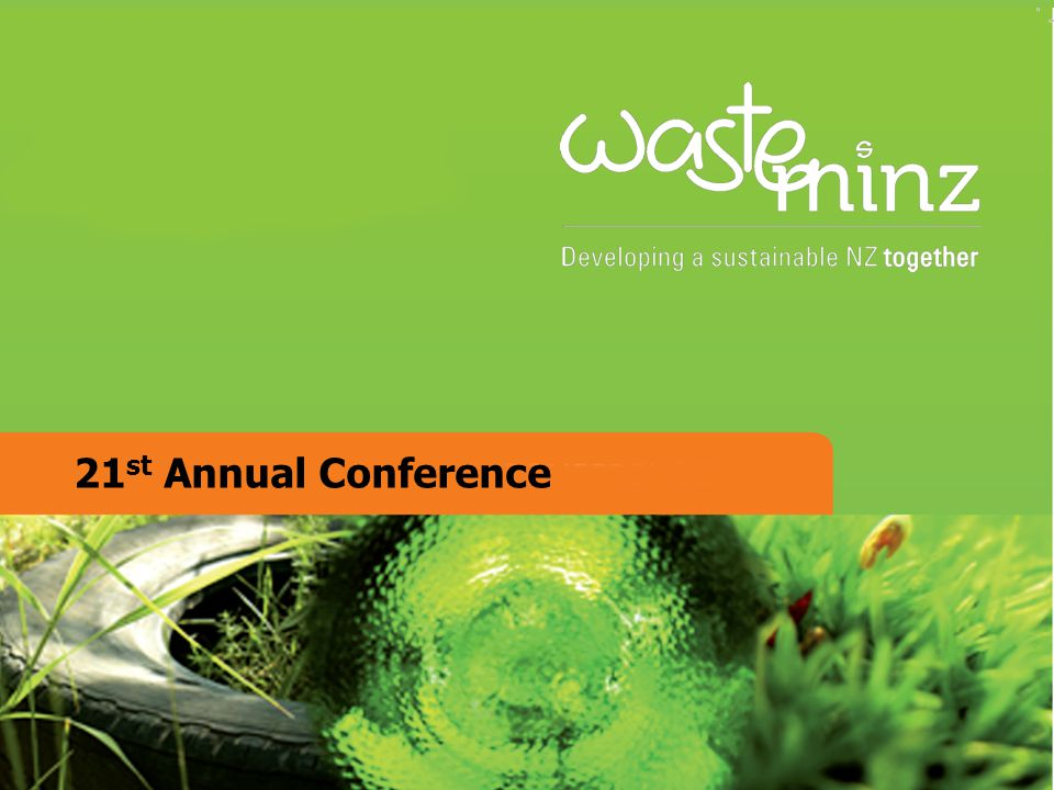 21 st Annual Conference