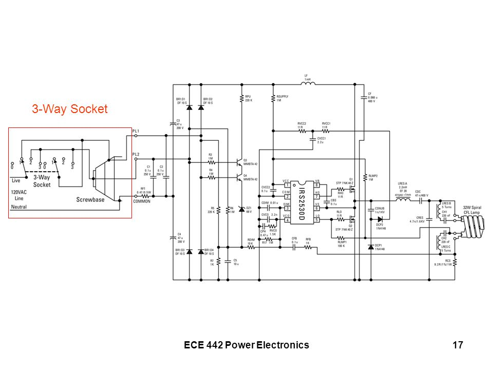 ECE 442 Power Electronics17 3-Way Socket