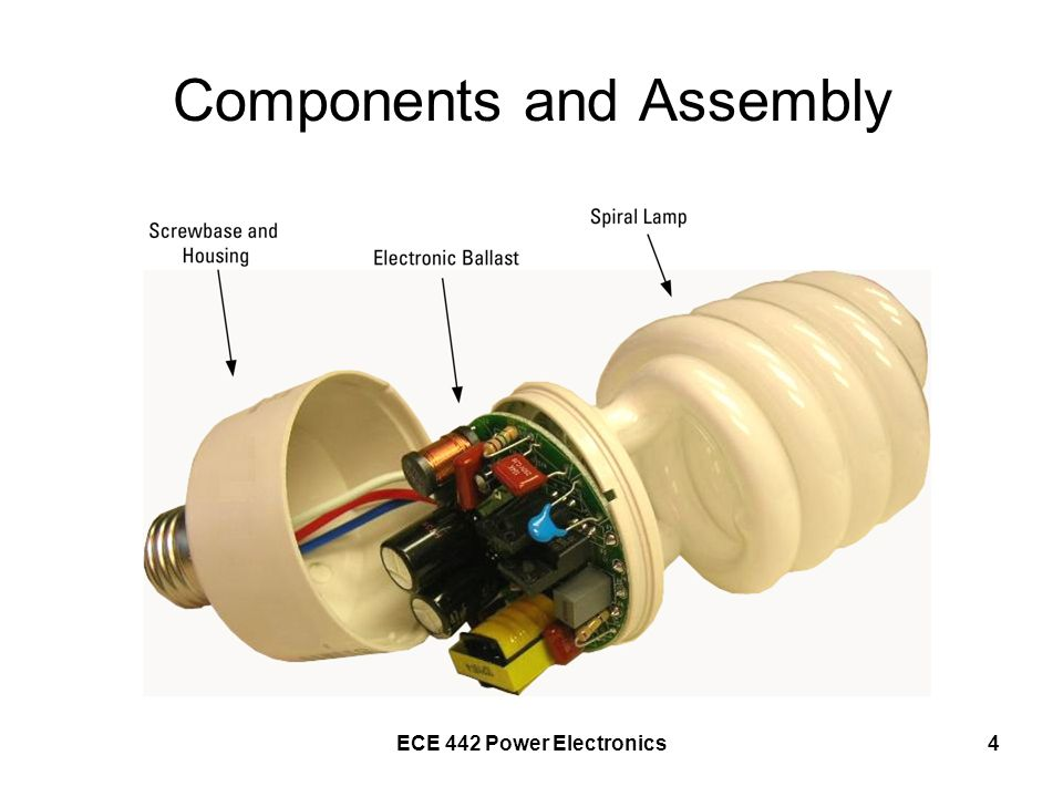 ECE 442 Power Electronics4 Components and Assembly