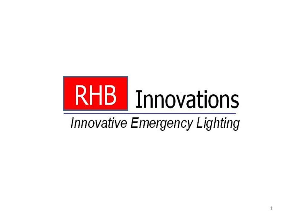 2 Introduction RHB Innovations was established by the previous owners of the Bodine Company Our Management Team has combined experience of over 100 years in the Lighting Industry Exceptional customer service and high quality emergency products Based in Memphis, TN