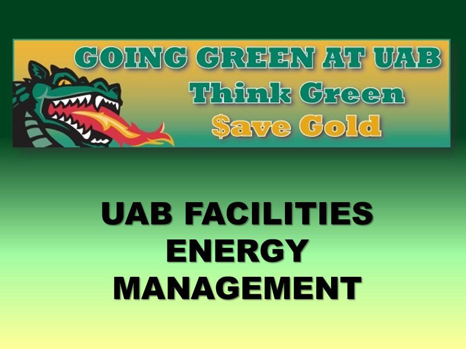 UAB Green – LED Acorn Pole Lighting Upgrade UAB Green - Upgraded 76 150 watt (with ballast) high-energy mercury-vapor acorn pole-lights to 45 watt LED fixtures saving over 9,880 watts in energy (approximately $3,029 per year, 5 year payback).
