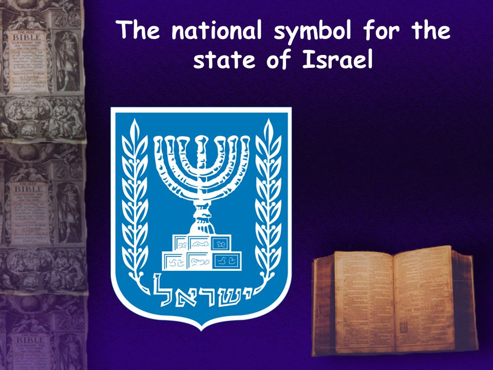 The national symbol for the state of Israel