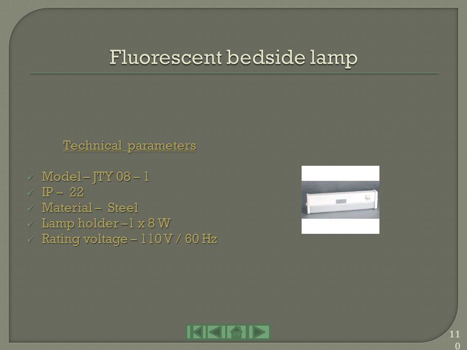 Technical parameters Model – JPY 15 – 2 / JPY 30 - 2 Model – JPY 15 – 2 / JPY 30 - 2 IP – 22 IP – 22 Material – Steel Material – Steel Lamp holder –2