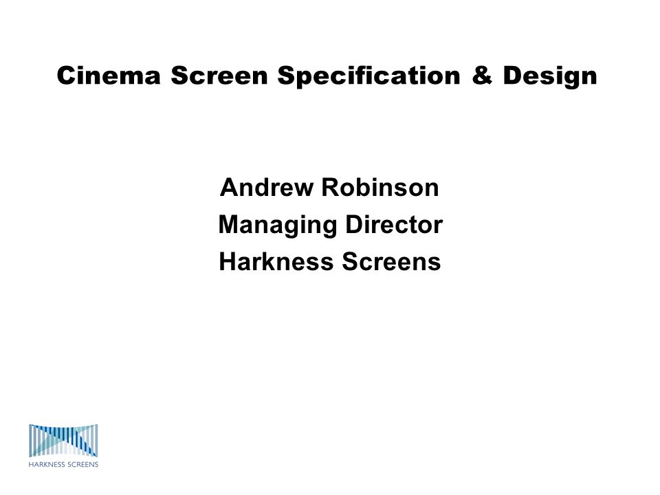 Other important screen characteristics As well as brightness and acoustic performance, these other screen characteristics are also important: colour rendition - accurately portraying colours contrast - preserving the contrast variations of the film no visible seams or other imperfections