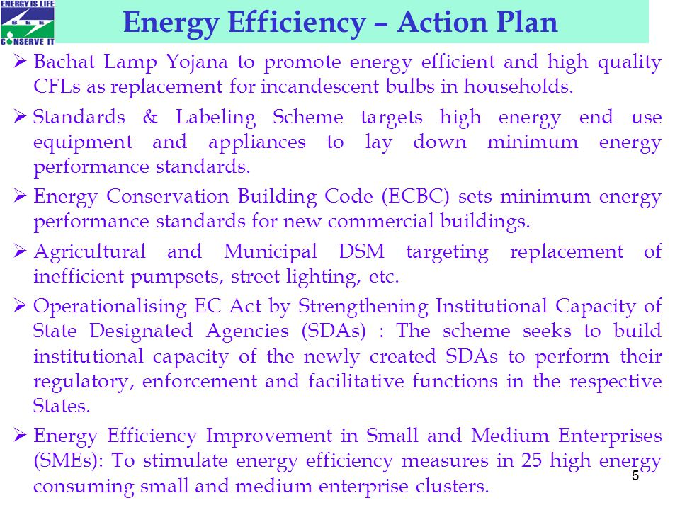 6 A market based mechanism to enhance cost effec­tiveness of improvements in energy efficiency in energy-intensive large industries and facilities, through certification of energy savings that could be traded.