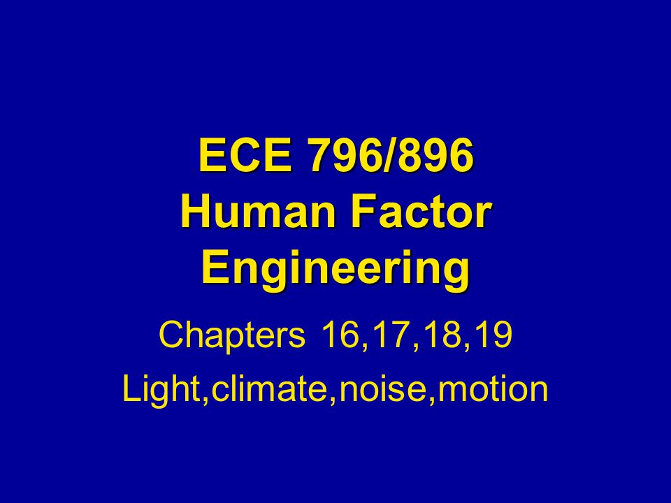 Noise Control Control at the Source –Selecting quieter equipment, damping out noise Control along the Path: High frequency noise can be controlled through barriers Control at the Receiver:Hearing protection devices