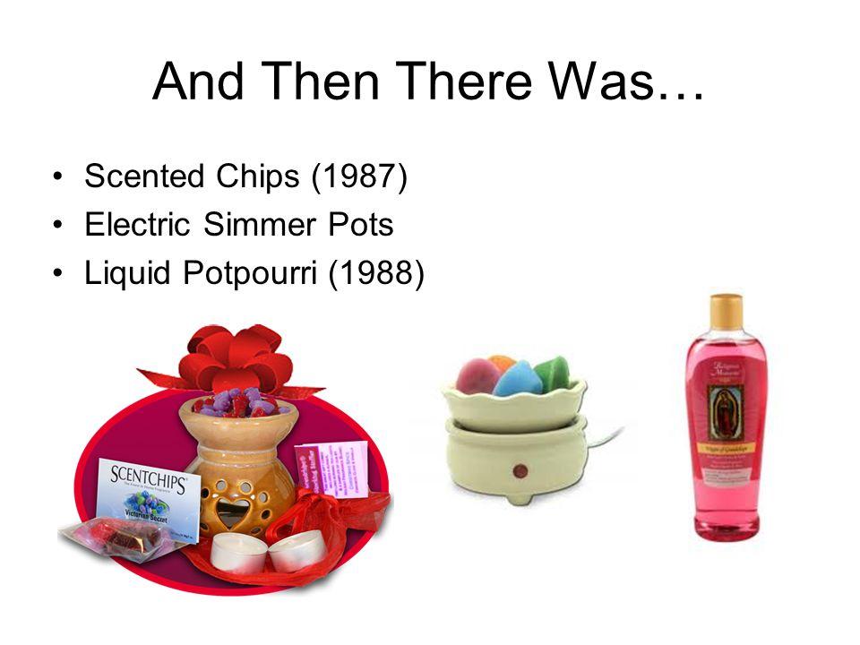 Scented Chips (1987) Electric Simmer Pots Liquid Potpourri (1988)