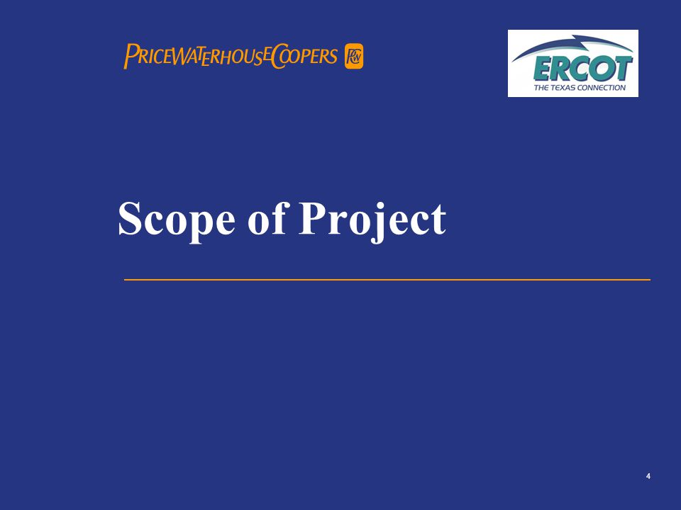 PricewaterhouseCoopers 5 Scope of Project – Reporting Structure What is a SAS 70 report.