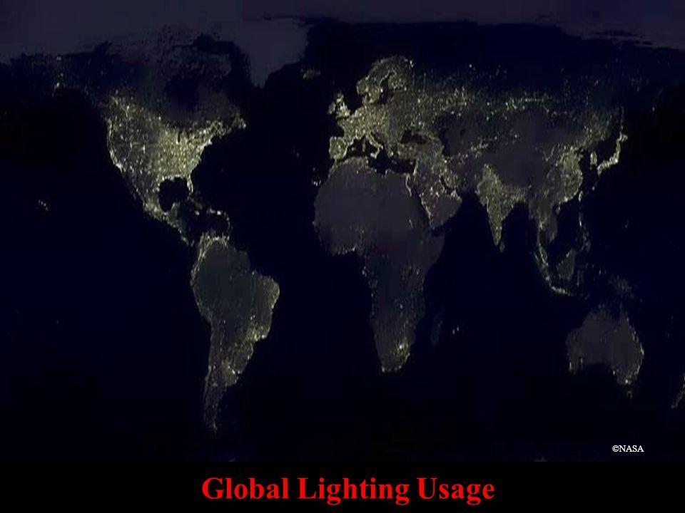 Global Lighting Usage ©NASA