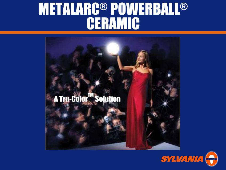 METALARC ® POWERBALL ® CERAMIC A Tru-Color TM Solution