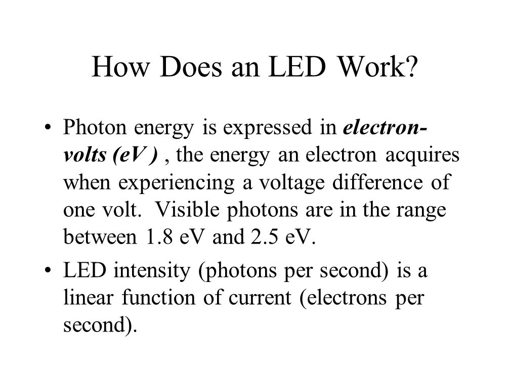 How Does an LED Work.
