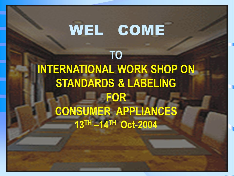 CPRI CAPABILITIES FOR MEETING THE TESTING REQUIREMENTS FOR LABELING PROGRAMME K.