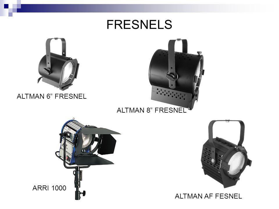 FRESNELS ALTMAN 6 FRESNEL ALTMAN AF FESNEL ALTMAN 8 FRESNEL ARRI 1000