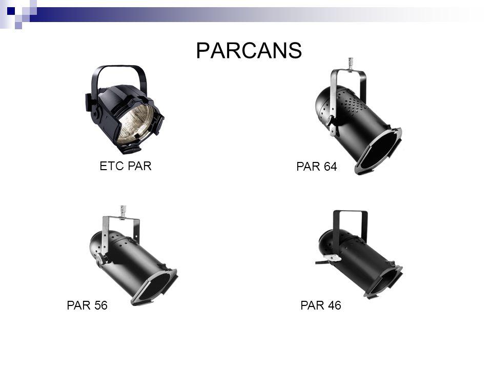 PARCANS ETC PAR PAR 64 PAR 56PAR 46