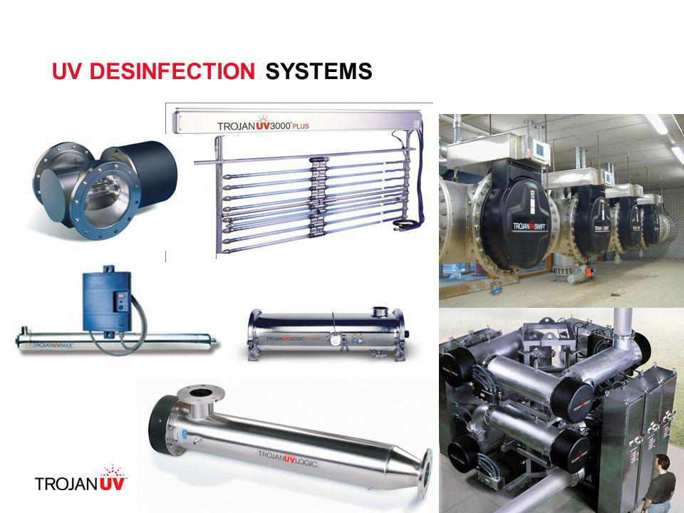 13 UV DESINFECTION SYSTEMS