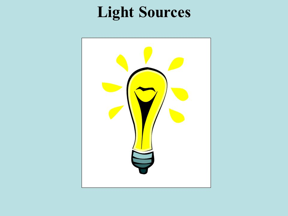 Light Sources