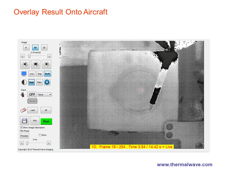 Overlay Result Onto Aircraft www.thermalwave.com