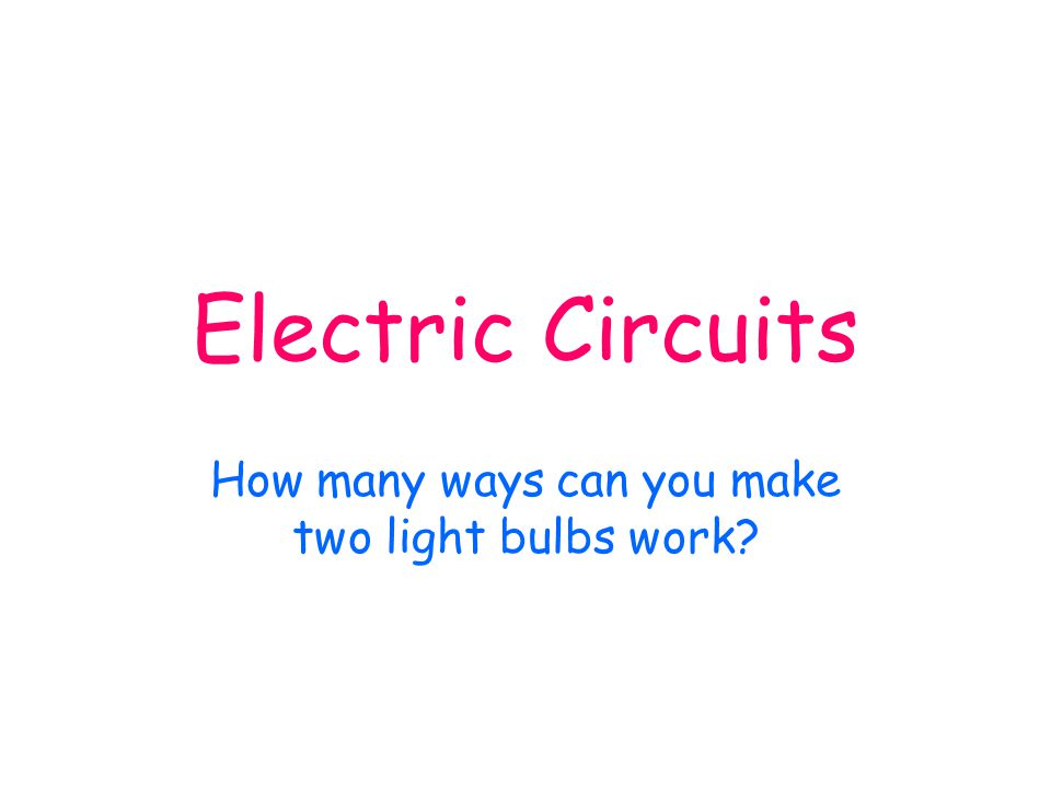 Parallel Circuits and Current We are measuring the current I in a parallel circuit. What have we observed? We find that the current in each of the bra
