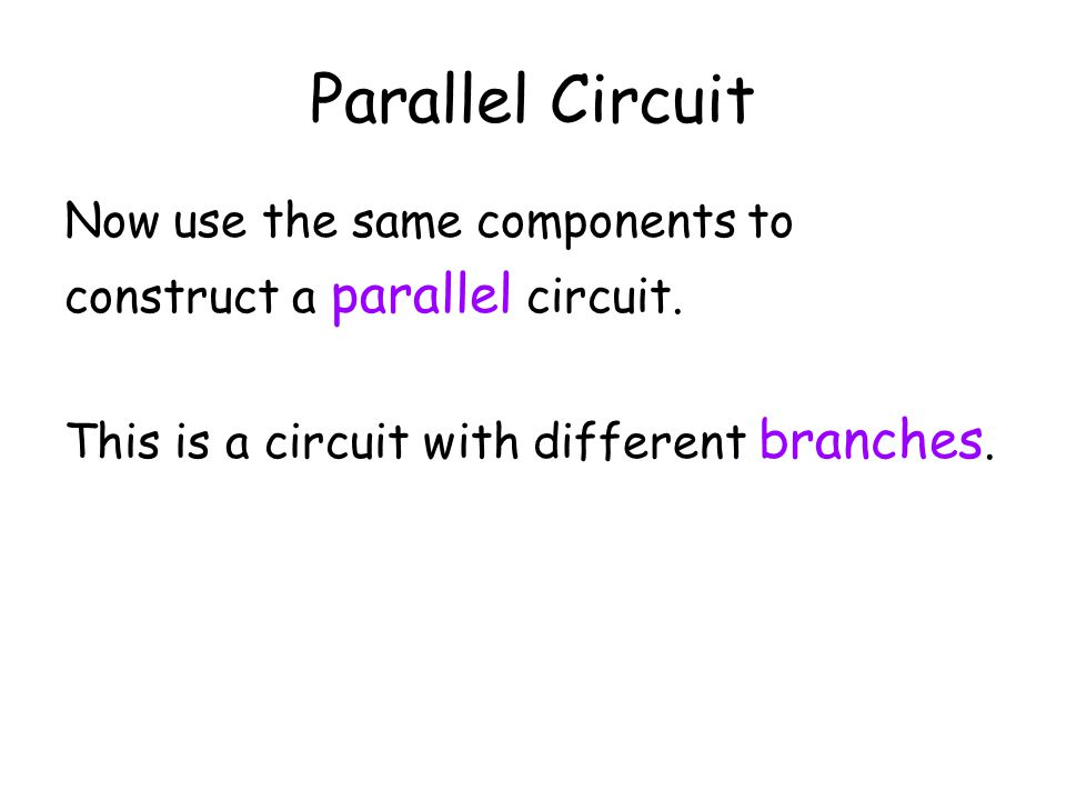 Series Circuits and Voltage We are measuring the potential difference (V) in a series circuit. What have we observed? We find that the How can this be