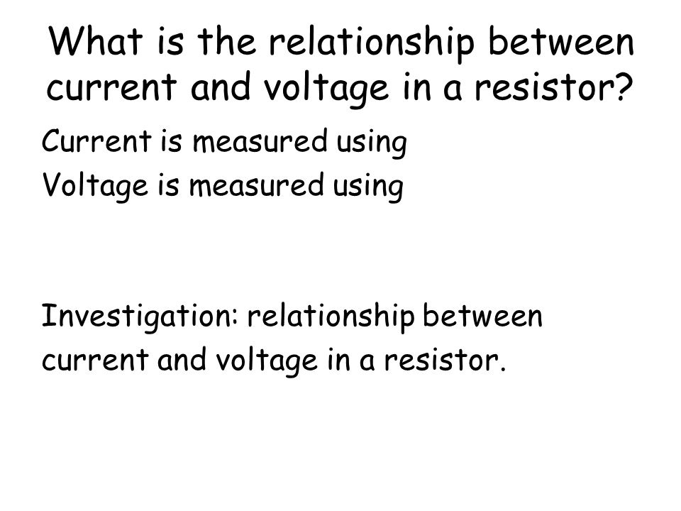 Resistors oppose (or resist ) the flow of electric current. They have a property called resistance (R) which is measured in ohms ().