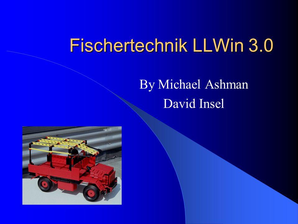 Fischertechnik LLWin 3.0 By Michael Ashman David Insel
