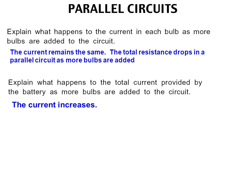 The circuit is no longer complete, therefore current can not flow The voltage decreases because the current is decreased and the resistance increases.