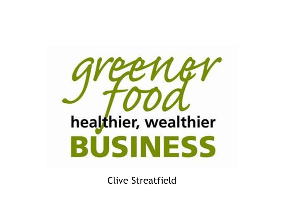Delivering a Sustainable Future for London Clive Streatfield