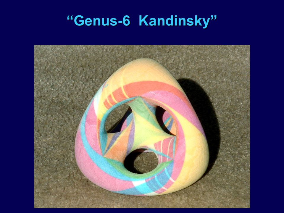 Genus-6 Kandinsky