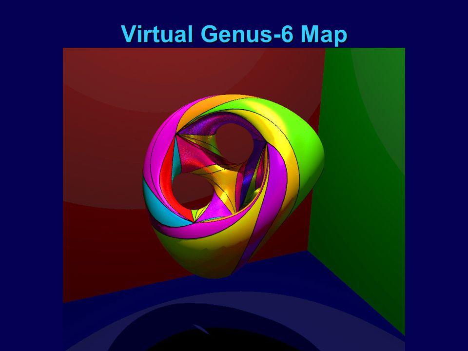Virtual Genus-6 Map