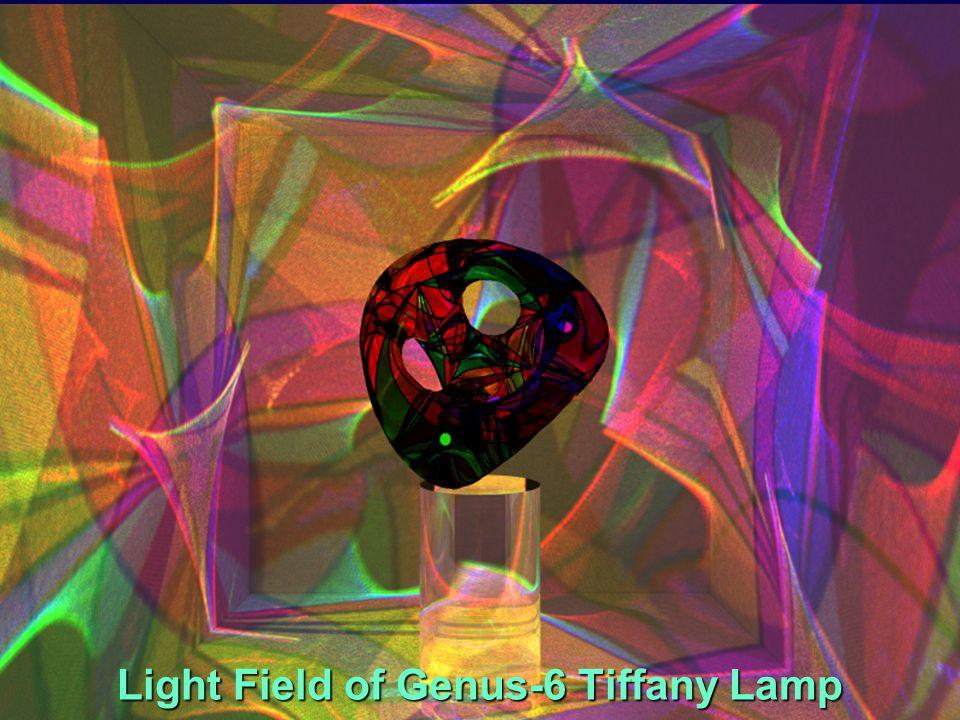Light Field of Genus-6 Tiffany Lamp