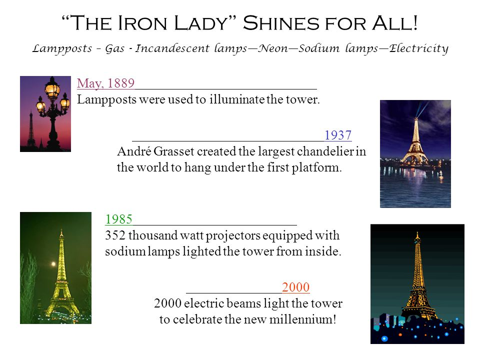 The Iron Lady is Kept Beautiful! We will most likely never realize the full importance of painting the Tower, that it is the essential element in the