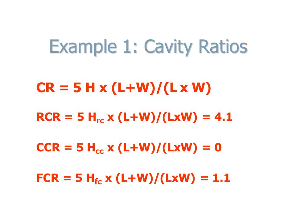 Coefficient of Utilization Factor(CU) Calculation 10. Calculate Effective Ceiling Reflectance