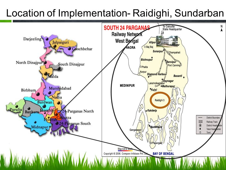 Location of Implementation- Raidighi, Sundarban