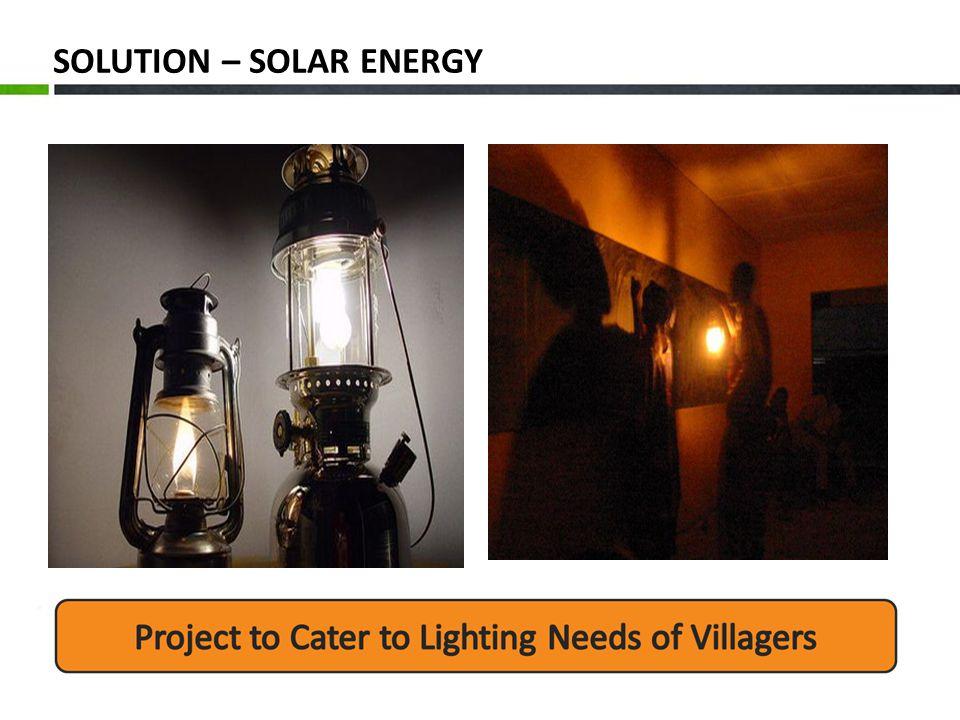 SOLUTION – SOLAR ENERGY
