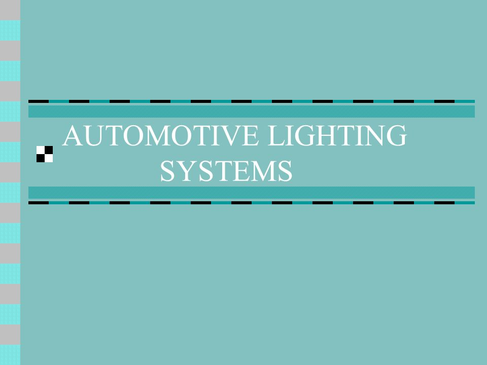 Interior Lighting Courtesy Lights – Trunk, glove box, under hood, roof & floor lighting Ip & Panel Lighting – Illuminate gauges and controls with dimmable lighting
