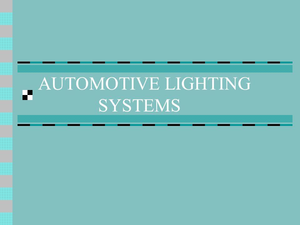 AUTOMOTIVE LIGHTING SYSTEMS