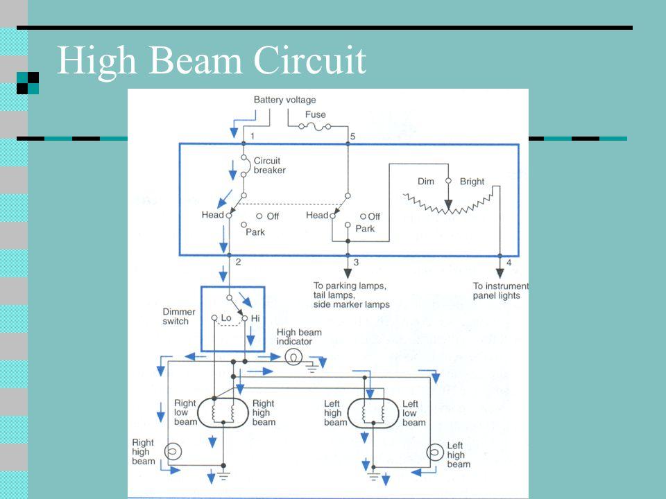 High Beam Circuit